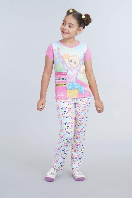 Pijama para Niña Color Rosado Ref: 034005 - Confetex - Talla: 4