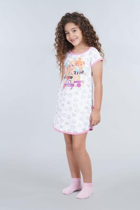 Pijama para Niña Color Blanco Ref: 037002 - Confetex - Talla: 4