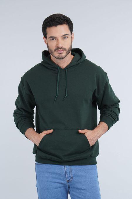 Buzo para Hombre Color Verde Ref: 018500 - Gildan - Talla: L