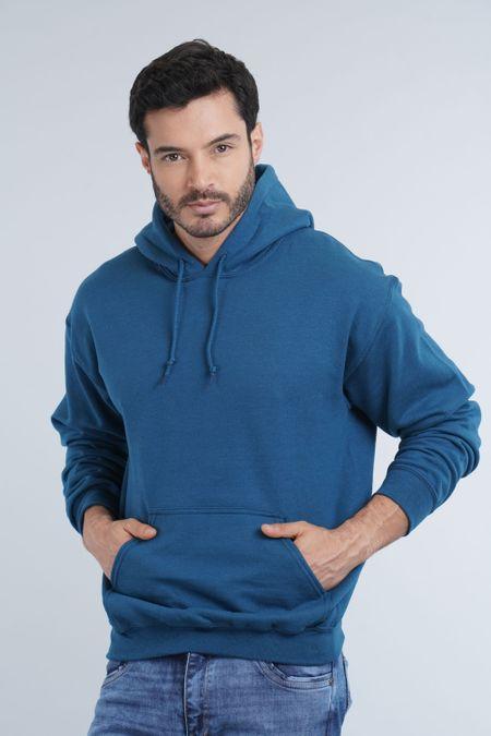 Buzo para Hombre Color Azul Ref: 018500 - Gildan - Talla: L