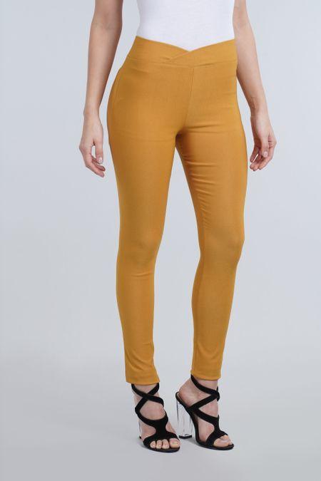 Leggin para Mujer Color Amarillo Ref: 007700 - E.U - Talla: 6