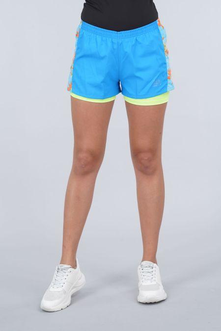 Short para Mujer Color Azul Ref: 006006 - Celestial - Talla: S