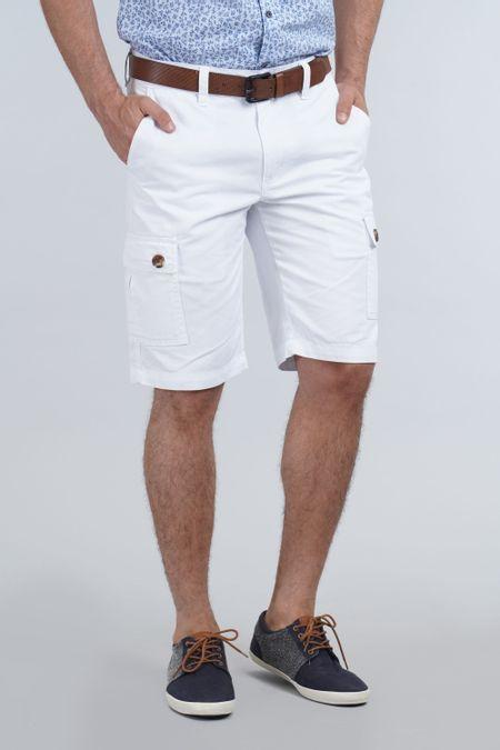 Bermuda para Hombre Color Blanco Ref: 103135 - E.U - Talla: 30