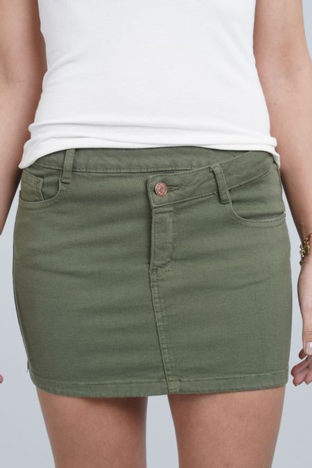 Falda para Mujer Color Verde Ref: 103284 - E.U - Talla: 8