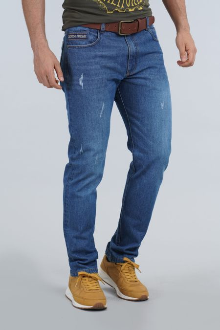 Jean para Hombre Color Azul Ref: 103323 - E.U - Talla: 30