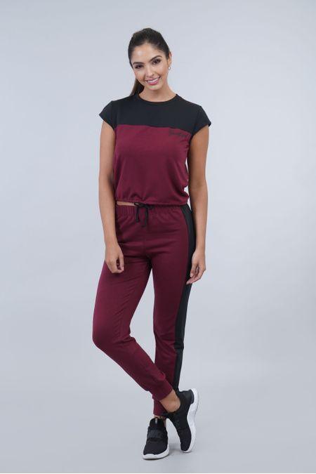 Blusa para Mujer Color Vinotinto Ref: 003192 - CCU - Talla: S