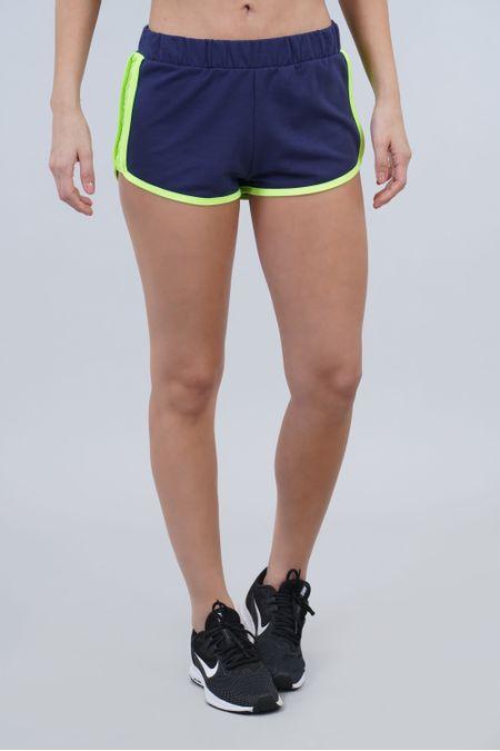 Short para Mujer Color Azul Ref: 003538 - CCU - Talla: S