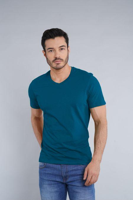 Camiseta para Hombre Color Azul Ref: 1040-1 - CCU - Talla: S