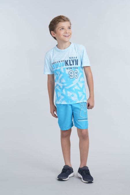 Conjunto para Niño Color Azul Ref: 006014 - Ambil - Talla: 2