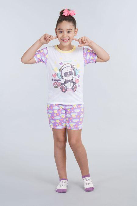 Pack x 2 Pijama para Niña Color Surtido Ref: E131713 - Ambil - Talla: 2