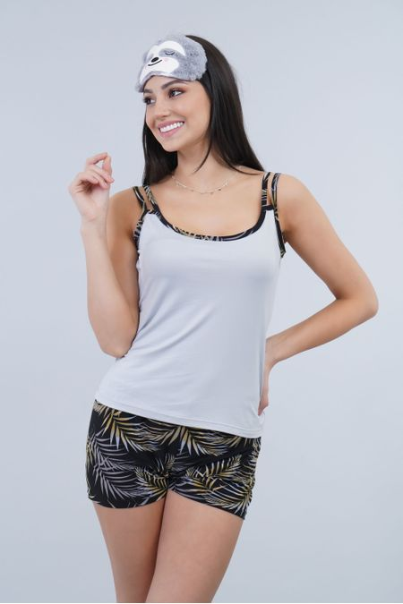 Pijama para Mujer Color Gris Ref: 099002 - CCU - Talla: S