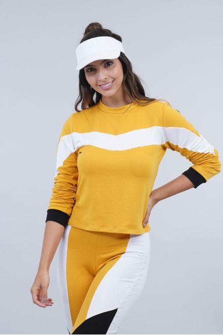 Buzo para Mujer Color Amarillo Ref: 003540 - CCU - Talla: S