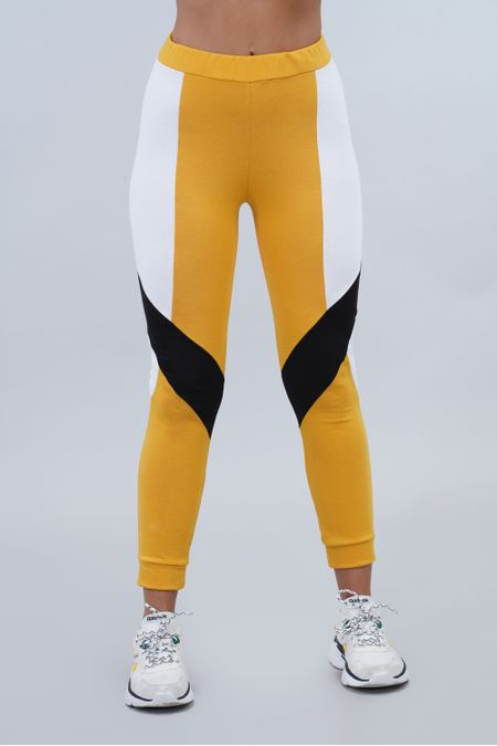 Jogger para Mujer Color Amarillo Ref: 003199 - CCU - Talla: S