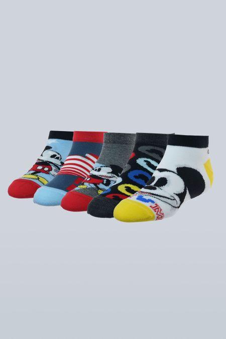Pack x 5 Medias para Niño Color Surtido Ref: 104084 - Support - Talla: 6-8