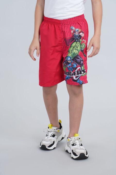 Pantaloneta para Niño Color Rojo Ref: 218036 - Confetex - Talla: 6