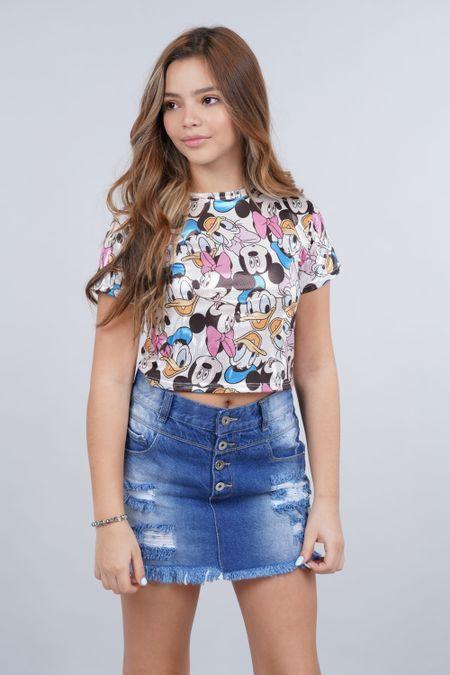 Blusa para Teen Color Blanco Ref: 103974 - Colditex - Talla: 10