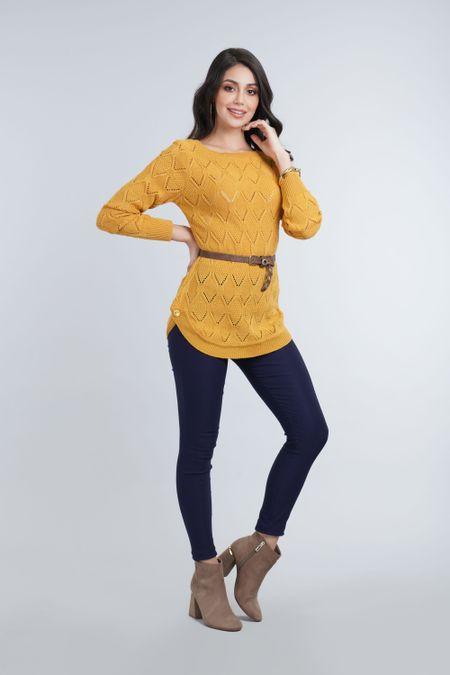 Buzo para Mujer Color Amarillo Ref: 000105 - Cottone - Talla: UNICA