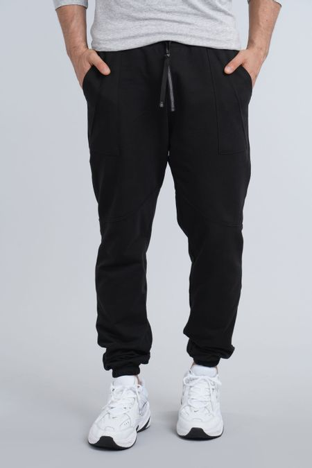 Jogger para Hombre Color Negro Ref: 301012 - Olamtex - Talla: 28