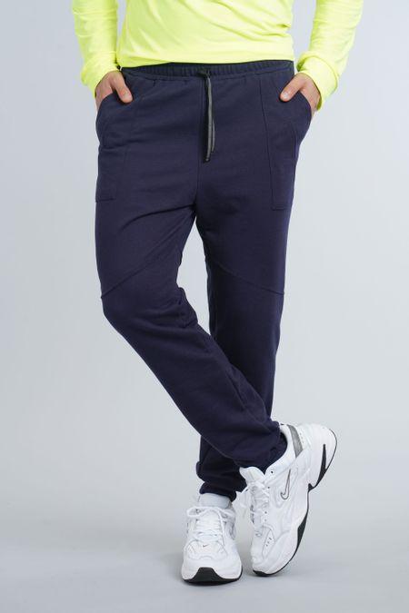 Jogger para Hombre Color Azul Ref: 301012 - Olamtex - Talla: 28