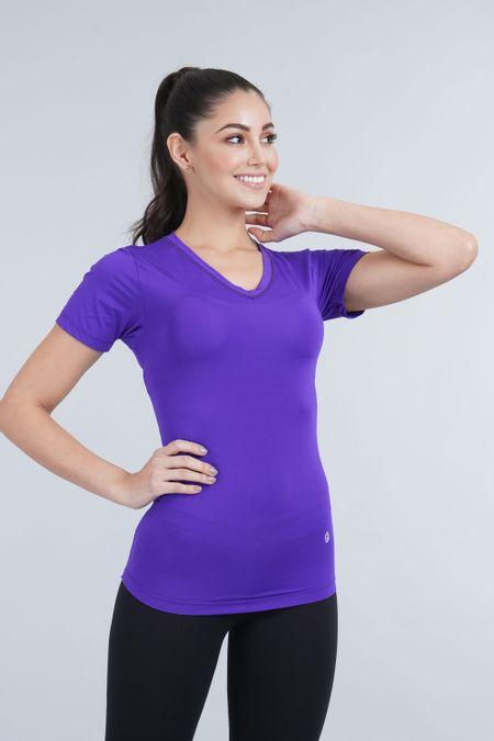 Camiseta para Mujer Color Morado Ref: 018581 - Sex - Talla: S