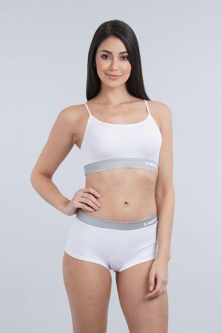 Cjto R.I. para Mujer Color Blanco Ref: 019029 - Sex - Talla: S