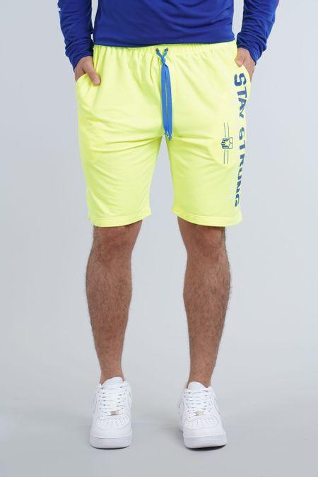 Pantaloneta para Hombre Color Amarillo Ref: 003273 - CCU - Talla: S