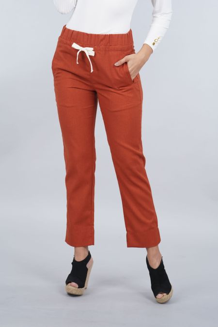 Pantalon para Mujer Color Terracota Ref: 103106 - E.U - Talla: 8
