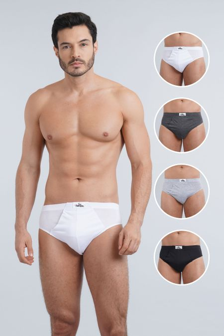 Pack x 4 Interior para Hombre Color Surtido Ref: A43104 - Sex - Talla: 38