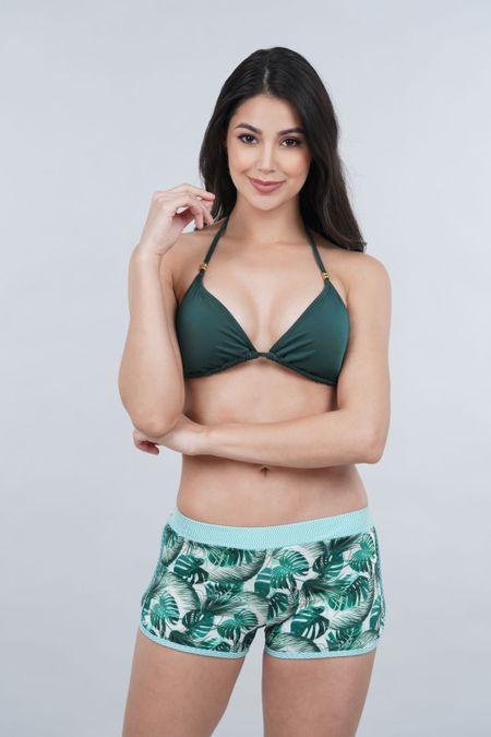 Pantaloneta para Mujer Color Verde Ref: N10000 - Tropical - Talla: 32