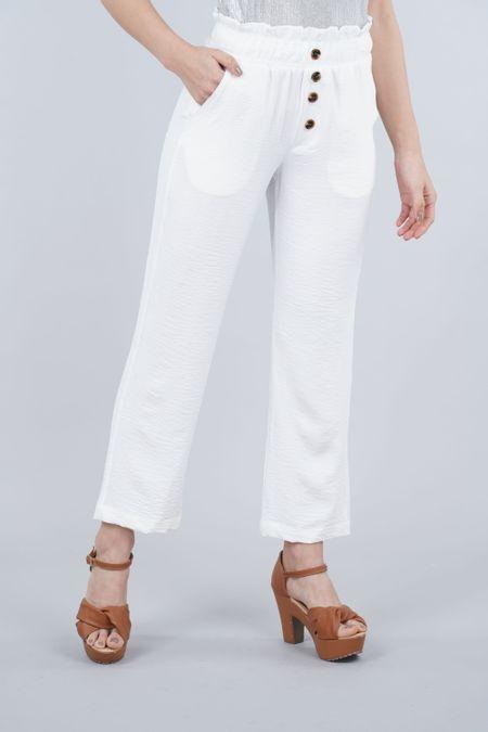 Pantalon para Mujer Color Blanco Ref: 103309 - E.U - Talla: 10