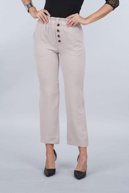 Pantalon para Mujer Color Marfil Ref: 103309 - E.U - Talla: 14