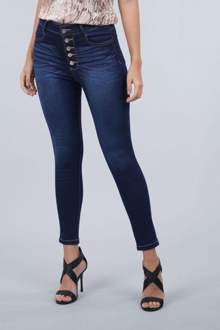Jean para Mujer Color Azul Ref: 103334 - E.U - Talla: 6
