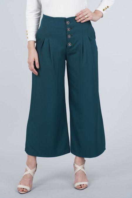 Pantalon para Mujer Color Verde Ref: 103385 - E.U - Talla: 8