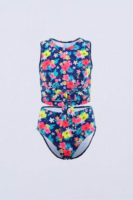 Vtdo. Baño para Teen Color Azul Ref: J20016 - Tropical - Talla: 14