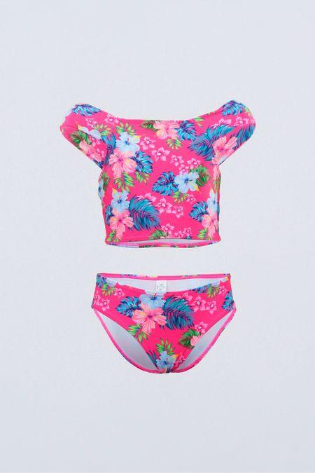 Pack x 3 Vtdo. Baño para Teen Color Fucsia Ref: J30009 - Tropical - Talla: 20