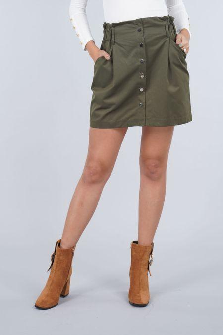 Falda para Mujer Color Verde Ref: 103448 - E.U - Talla: 8