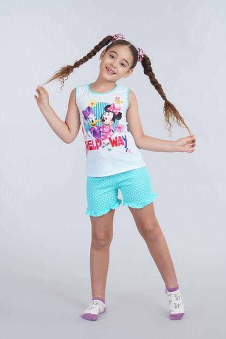 Pijama para Niña Color Azul Ref: 105349 - CCU - Talla: 2