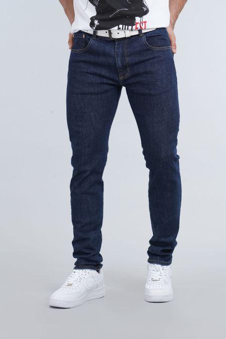 Jean para Hombre Color Azul Ref: 000365 - E.U - Talla: 30