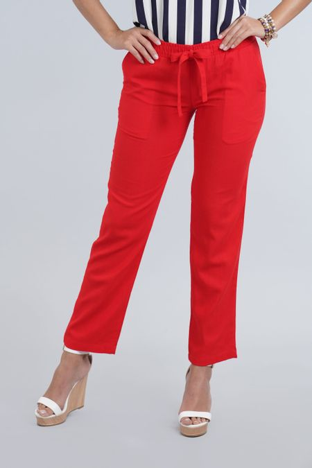 Pantalon para Mujer Color Rojo Ref: 003557 - E.U - Talla: 8