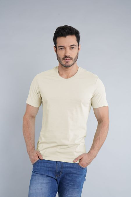 Camiseta para Hombre Color Marfil Ref: 1040-1 - CCU - Talla: S