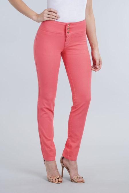 Pantalon para Mujer Color Coral Ref: 101502-2 - E.U - Talla: 8