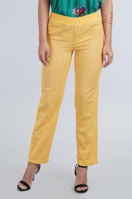 Pantalon para Mujer Color Amarillo Ref: 100729 - E.U - Talla: 8