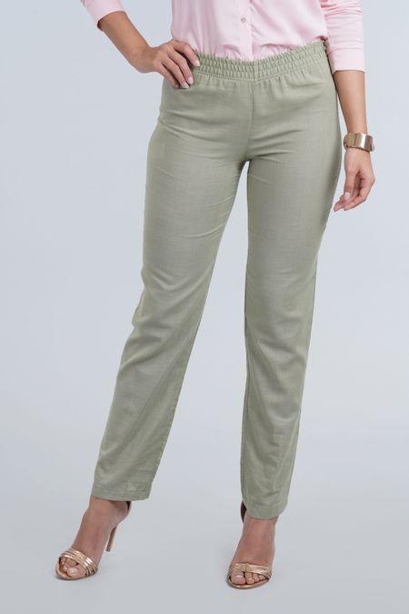 Pantalon para Mujer Color Verde Ref: 100729 - E.U - Talla: 8