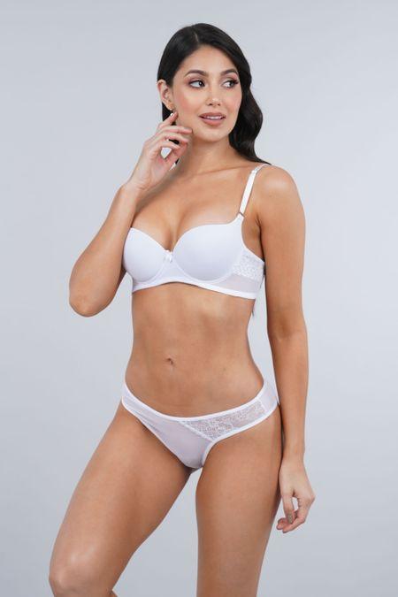 Cjto R.I. para Mujer Color Blanco Ref: 902416 - Realeza - Talla: 38