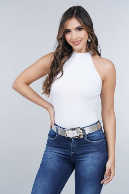 Blusa para Mujer Color Blanco Ref: 033368 - CCU - Talla: S