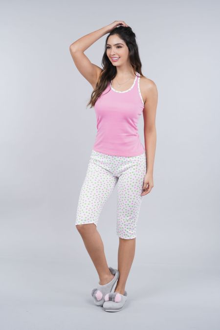 Pijama para Mujer Color Rosado Ref: 990810 - CCU - Talla: S