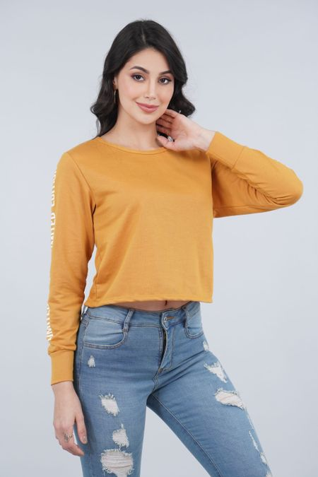 Buzo para Mujer Color Amarillo Ref: 301111 - Olamtex - Talla: S