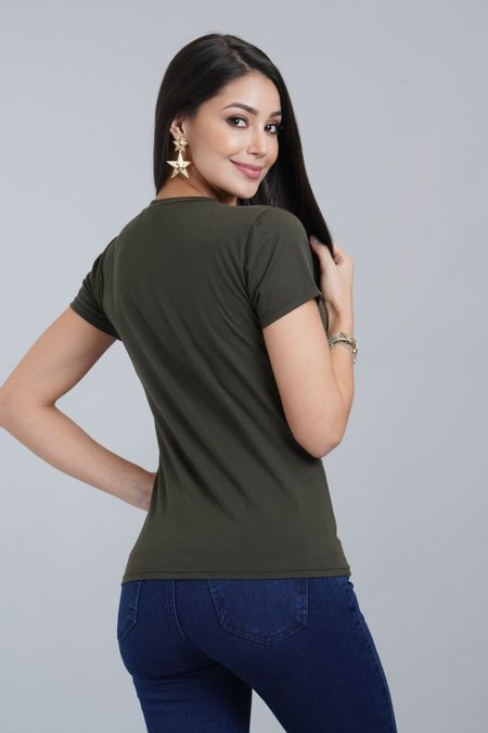 Blusa para Mujer Color Verde Ref: 029896 - CCU - Talla: M