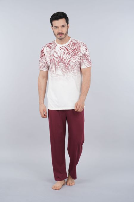 Pijama para Hombre Color Marfil Ref: 003328 - CCU - Talla: S