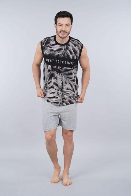 Pijama para Hombre Color Negro Ref: 003326 - CCU - Talla: S